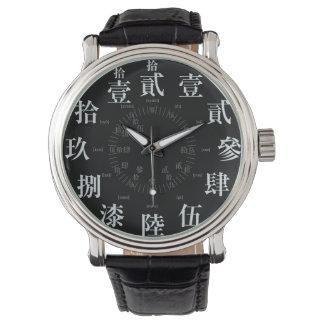 日本困難で古い漢字のスタイル[太字] 腕時計