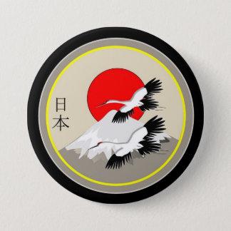 日本図像学 7.6CM 丸型バッジ