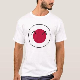 日本国の球 Tシャツ
