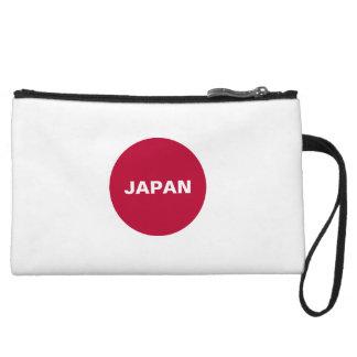 日本旗のリストレットの財布 クラッチ