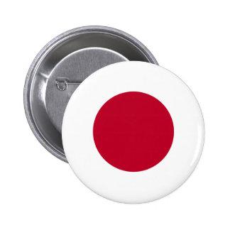 日本旗ボタン 5.7CM 丸型バッジ