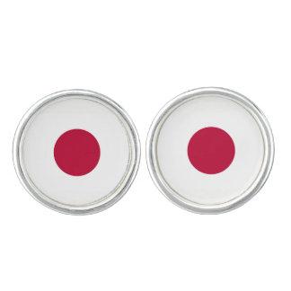 日本旗 カフブローチ