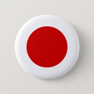 日本旗 5.7CM 丸型バッジ