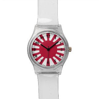 日本朝日旗 腕時計