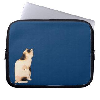 日本猫、国芳の日本のな猫、Kuniyoshi、Ukiyo-e コンピュータスリーブ