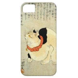 日本猫、国芳の日本のな猫、Kuniyoshi、Ukiyo-e iPhone 5 ケース