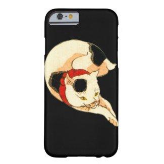 日本猫, 国芳 Japanese Cat, Kuniyoshi, Ukiyo-e iPhone 6 ベアリーゼアケース