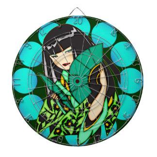 日本製アニメのアジア女の子のダート盤 ダーツボード