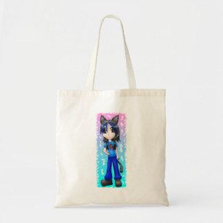 日本製アニメのcatgirlのバッグ トートバッグ