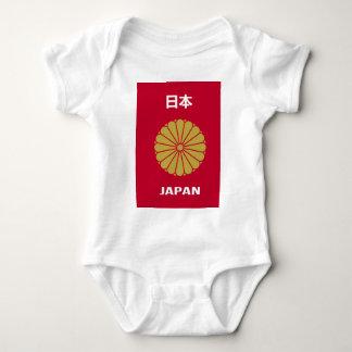 日本語-日本-日本人 ベビーボディスーツ