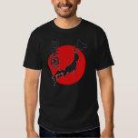 日本黒 TEE シャツ
