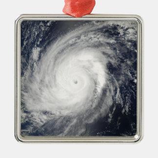 日本2の南の台風Sudal メタルオーナメント