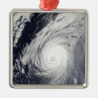 日本3の南の台風Sudal メタルオーナメント