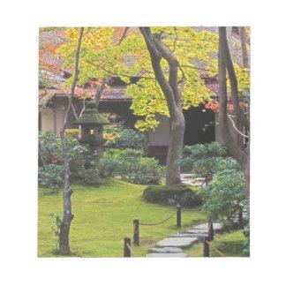 日本、京都、Arashiyama、Okochi Sanso ノートパッド