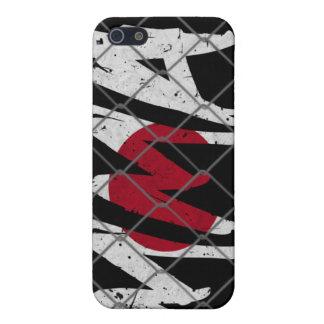 日本MMA黒いiphone 4ケース iPhone 5 Cover