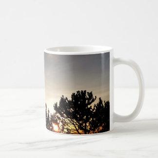 日没およびWhitebarkマツマグ コーヒーマグカップ
