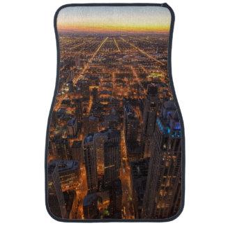 日没で都心のシカゴ カーマット