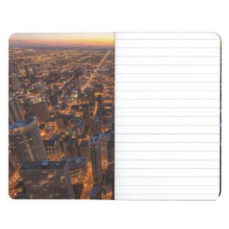 日没で都心のシカゴ ポケットジャーナル