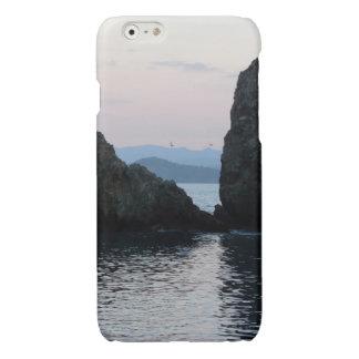 日没のエーゲ海Fethiyeトルコ 光沢iPhone 6ケース