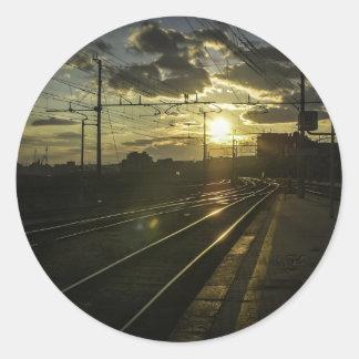 日没のカタニアの鉄道 ラウンドシール