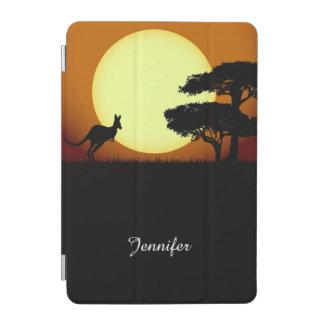 日没のカンガルー iPad MINIカバー