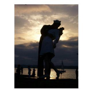 日没のキス ポストカード