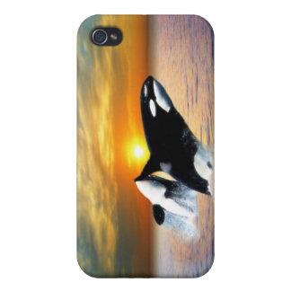 日没のクジラ iPhone 4/4S CASE