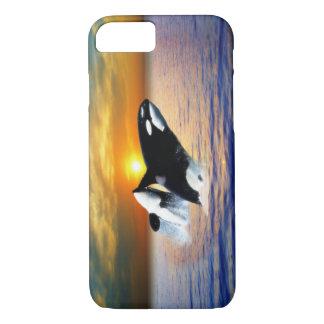 日没のクジラ iPhone 8/7ケース