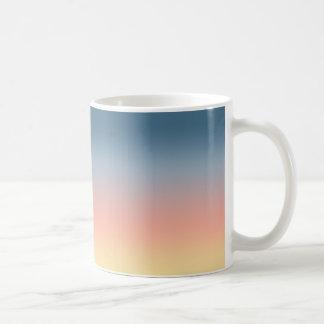 日没のグラデーションな勾配のマグ コーヒーマグカップ
