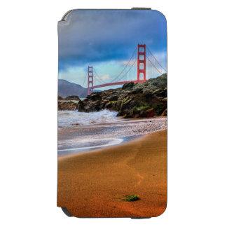 日没のゴールデンゲートブリッジ INCIPIO WATSON™ iPhone 5 財布型ケース