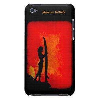 日没のサーファーの女の子 Case-Mate iPod TOUCH ケース