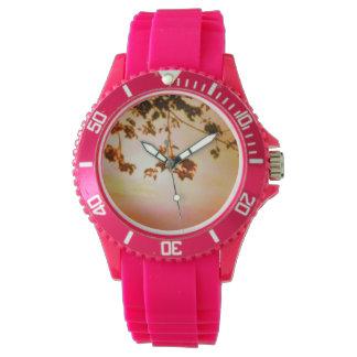 日没のシリコーンの腕時計 腕時計