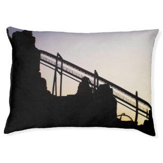 日没のシルエット ペットベッド
