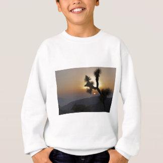 日没のジョシュアツリー スウェットシャツ
