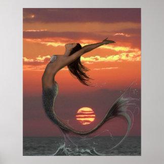 日没のダンス ポスター