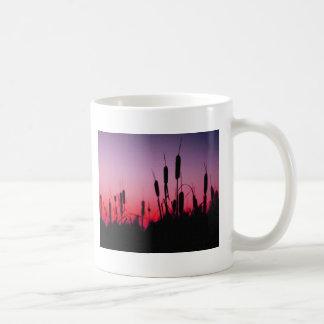 日没のネコヤナギ コーヒーマグカップ
