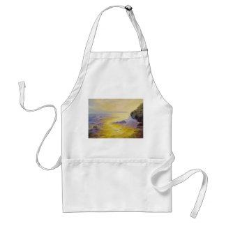 日没のビーチのエプロン スタンダードエプロン