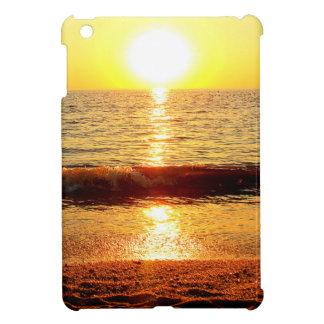 日没のビーチ、Cape May NJ iPad Miniケース