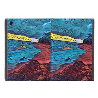 日没のビーチ iPad MINI ケース
