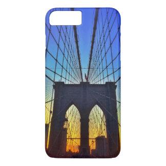 日没のブルックリン橋 iPhone 8 PLUS/7 PLUSケース