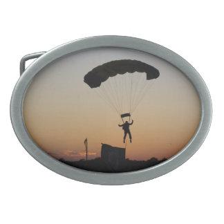 日没のベルトの留め金のSkydiverのパラシュート 卵形バックル