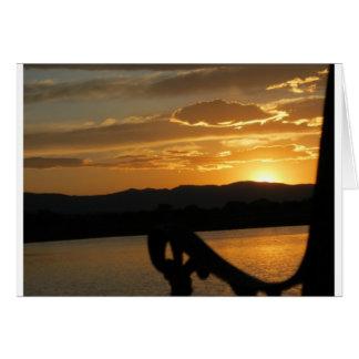 日没のベンチ カード