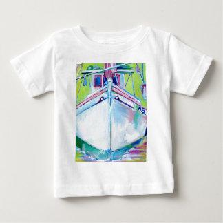 日没のボート ベビーTシャツ