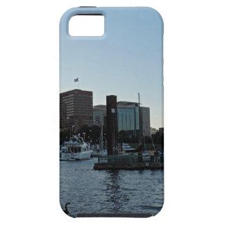 日没のポートランドスカイライン iPhone SE/5/5s ケース