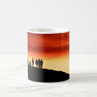 日没のマグの監視 コーヒーマグカップ