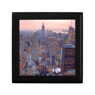 日没のマンハッタンの広い眺め ギフトボックス