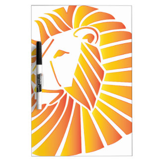 日没のライオン ホワイトボード