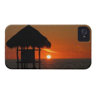 日没のライフガード小屋 Case-Mate iPhone 4 ケース