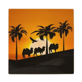 日没のラクダ ウッドコースター