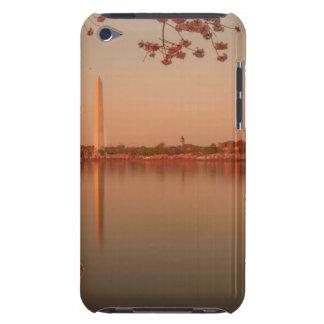 日没のワシントン記念塔の桜 Case-Mate iPod TOUCH ケース